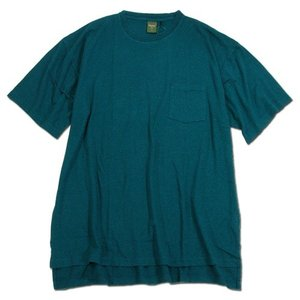 Phatee (ファッティー) SLOPPY TEE POCKET ヘンプコットン Tシャツ / FOREST|greenplanet