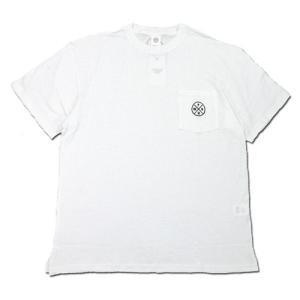 Phatee (ファッティー) HEALTHY STATE POCKET TEE ヘンプコットン ポケット Tシャツ / WHITE|greenplanet