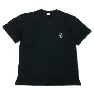 Phatee (ファッティー) HEALTHY STATE POCKET TEE ヘンプコットン ポケット Tシャツ / BLACK|greenplanet