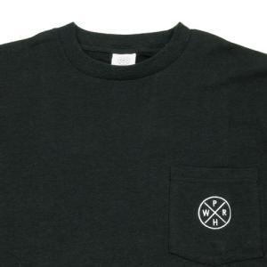Phatee (ファッティー) HEALTHY STATE POCKET TEE ヘンプコットン ポケット Tシャツ / BLACK|greenplanet|02