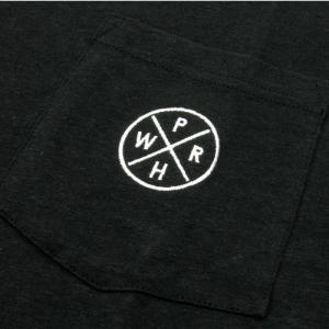 Phatee (ファッティー) HEALTHY STATE POCKET TEE ヘンプコットン ポケット Tシャツ / BLACK|greenplanet|03