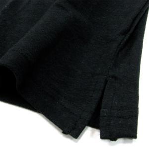 Phatee (ファッティー) HEALTHY STATE POCKET TEE ヘンプコットン ポケット Tシャツ / BLACK|greenplanet|04