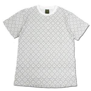 Phatee (ファッティー) ETERNI TEE PRINTED ヘンプコットン ショートスリーブ Tシャツ / MOROCCO GREY|greenplanet