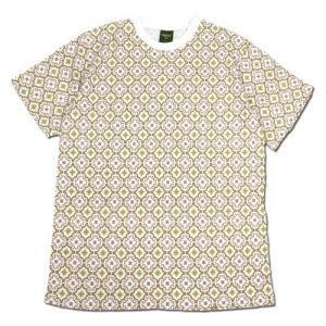 Phatee (ファッティー) ETERNI TEE PRINTED ヘンプコットン ショートスリーブ Tシャツ / MOROCCO BEIGE|greenplanet