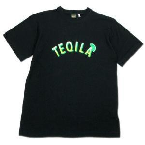 Phatee (ファッティー) TEQUILA TEE ヘンプコットン ショートスリーブ Tシャツ / BLACK|greenplanet
