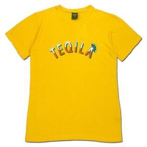 Phatee (ファッティー) TEQUILA TEE ヘンプコットン ショートスリーブ Tシャツ / YELLOW|greenplanet