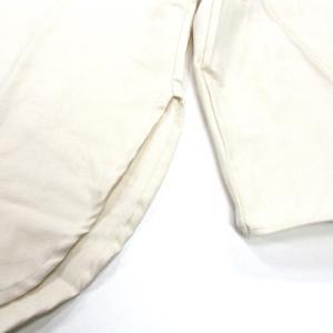 Phatee (ファッティー) KAIKO SHIRTS BC コットンネル ロングスリーブ バンドカラーシャツ / IVORY|greenplanet|03