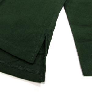 Phatee (ファッティー) CAMP COLLAR SHIRTS コットンネル ロングスリーブ キャンプカラーシャツ / DEEP GREEN greenplanet 04