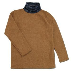 Phatee (ファッティー) TURTLE TEE COMBO タートルネック Tシャツ / BEIGE|greenplanet