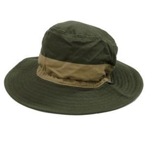 Phatee (ファッティー) NEW HAT ヘンプコットン キャンプハット / OLIVE greenplanet