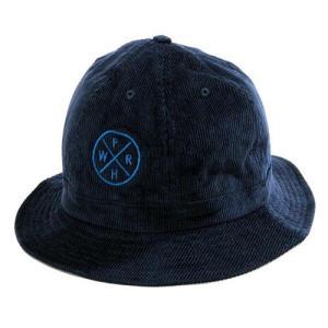 Phatee (ファッティー) HEALTHY STATE TENNIS HAT CORD コーデュロイ ハット 帽子 / NAVY CORD|greenplanet