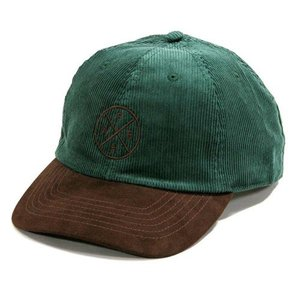 Phatee (ファッティー) HEALTHY STATE CAP 2TONE コーデュロイ ハット 帽子 / FOREST x BROWN|greenplanet