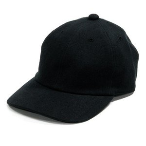 Phatee (ファッティー) DADDY CAP ヘンプコットンキャンバス ベースボールキャップ 帽子 / BLACK CANVAS|greenplanet