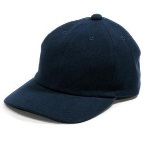 Phatee (ファッティー) DADDY CAP ヘンプコットンキャンバス ベースボールキャップ 帽子 / NAVY CANVAS|greenplanet