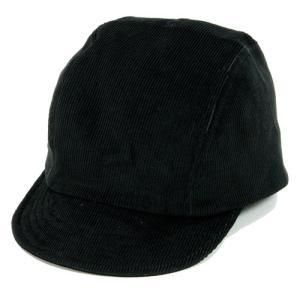Phatee (ファッティー) BIKE CAP コーデュロイ サイクル キャップ / BLACK|greenplanet