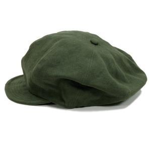 Phatee (ファッティー) HALF CASQ ヘンプコットン キャスケット キャップ / OLIVE|greenplanet|04