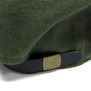 Phatee (ファッティー) HALF CASQ ヘンプコットン キャスケット キャップ / OLIVE|greenplanet|06