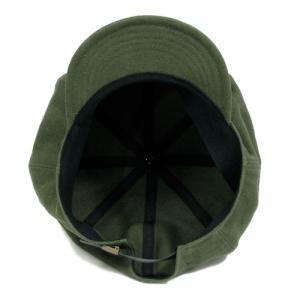 Phatee (ファッティー) HALF CASQ ヘンプコットン キャスケット キャップ / OLIVE|greenplanet|07