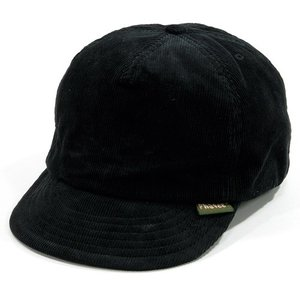 Phatee (ファッティー) HEMP CAP コーデュロイ ショートブリム ベースボールキャップ / CORD BLACK|greenplanet