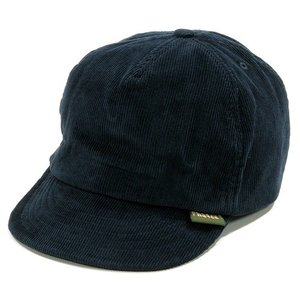 Phatee (ファッティー) HEMP CAP コーデュロイ ショートブリム ベースボールキャップ / CORD NAVY|greenplanet