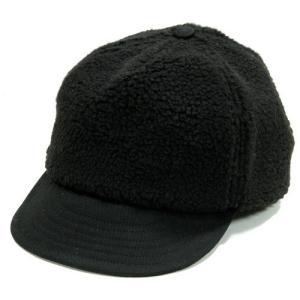 Phatee (ファッティー) PHAT CAP ボア べースボール キャップ / BOA BLACK|greenplanet