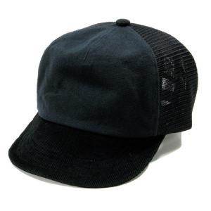 Phatee (ファッティー) MESH PHAT CAP ヘンプコットン メッシュキャップ べースボール キャップ / BLACK|greenplanet