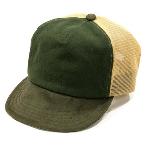 Phatee (ファッティー) MESH PHAT CAP ヘンプコットン メッシュキャップ べースボール キャップ / OLIVE x BROWN x BEIGE|greenplanet