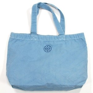 Phatee (ファッティー) HEALTHY STATE TOTE キャンバス トートバッグ / MICHEL BLUE|greenplanet