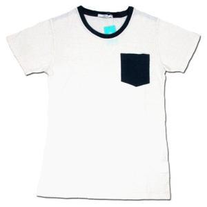 cobano (コバノ) TUFF POCKET TEE レディース ヘンプコットン ポケット Tシャツ / WHITE greenplanet