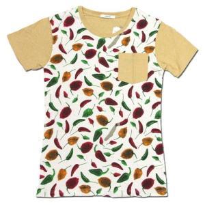 cobano (コバノ) TUFF POCKET TEE レディース ヘンプコットン ポケット Tシャツ / CHILI2 greenplanet