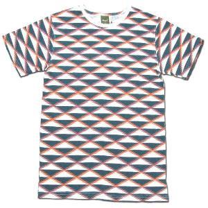 Phatee (ファッティー) ROCK TEE PRINTED 総柄 Tシャツ / SUQUWA|greenplanet