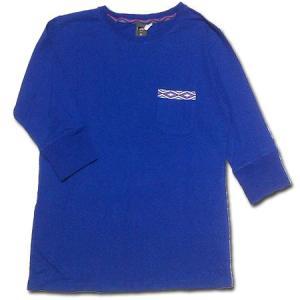 Phatee (ファッティー) NARDEE POCKET 7分袖 Tシャツ / G.BLUE|greenplanet