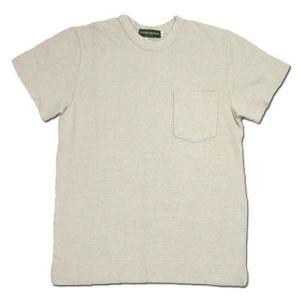 Phatee (ファッティー) SUPERIOR POCKET TEE ヘンプコットン ポケット Tシャツ / KINARI|greenplanet