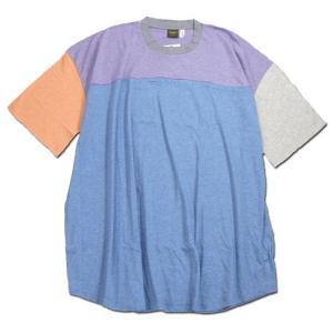 Phatee (ファッティー) O/C BIG TEE オーガニックコットン ビッグTシャツ / MULTI|greenplanet
