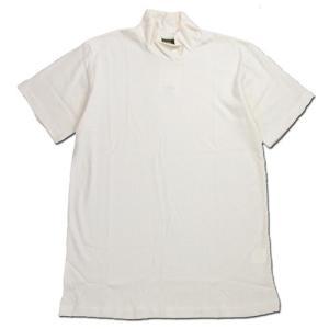 Phatee (ファッティー) O/C PILE HIGH NECK TEE オーガニックコットン パイル ハイネック Tシャツ / WHITE|greenplanet