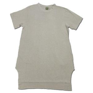 Phatee (ファッティー) SLEEPING TEE ヘンプコットン スリーピング Tシャツ / SMOKE BEIGE|greenplanet