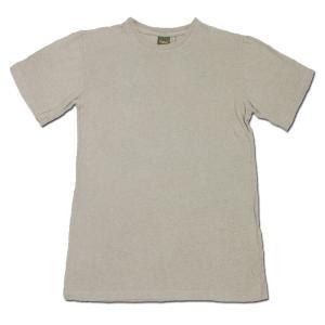 Phatee (ファッティー) ETERNI TEE ヘンプコットン ショートスリーブ Tシャツ / SMOKE BEIGE|greenplanet