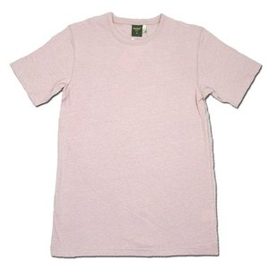 Phatee (ファッティー) ETERNI TEE ヘンプコットン ショートスリーブ Tシャツ / L.PINK|greenplanet