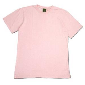 Phatee (ファッティー) ETERNI TEE ヘンプコットン ショートスリーブ Tシャツ / PINK|greenplanet