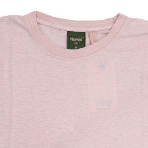 Phatee (ファッティー) ETERNI TEE ヘンプコットン ショートスリーブ Tシャツ / PINK|greenplanet|02