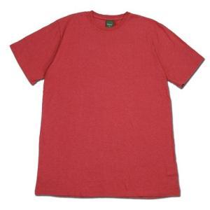 Phatee (ファッティー) ETERNI TEE ヘンプコットン ショートスリーブ Tシャツ / RED|greenplanet