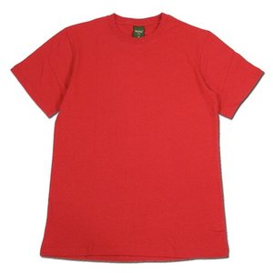 Phatee (ファッティー) ETERNI TEE ヘンプコットン ショートスリーブ Tシャツ / FORMULA RED|greenplanet