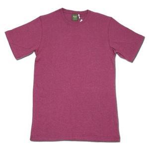 Phatee (ファッティー) ETERNI TEE ヘンプコットン ショートスリーブ Tシャツ / D.RED|greenplanet