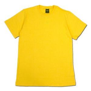 Phatee (ファッティー) ETERNI TEE ヘンプコットン ショートスリーブ Tシャツ / YELLOW|greenplanet