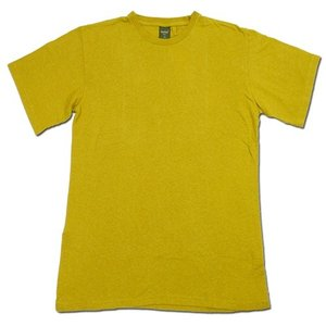 Phatee (ファッティー) ETERNI TEE ヘンプコットン ショートスリーブ Tシャツ / SMOKE MUSTARD|greenplanet
