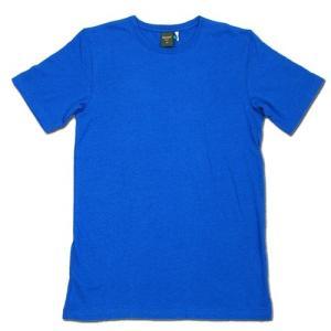 Phatee (ファッティー) ETERNI TEE ヘンプコットン ショートスリーブ Tシャツ / ROYAL|greenplanet