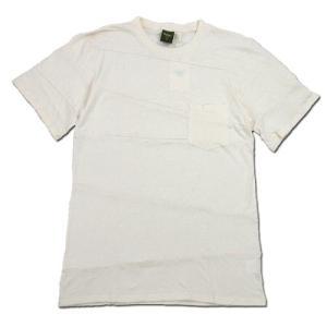 Phatee (ファッティー) PROGRESS POCKET TEE ヘンプコットン パッチワーク Tシャツ / KINARI|greenplanet