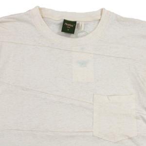 Phatee (ファッティー) PROGRESS POCKET TEE ヘンプコットン パッチワーク Tシャツ / KINARI|greenplanet|02