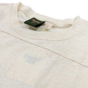 Phatee (ファッティー) PROGRESS POCKET TEE ヘンプコットン パッチワーク Tシャツ / KINARI|greenplanet|03