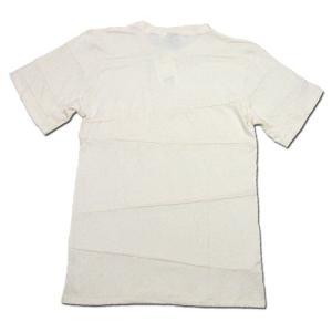 Phatee (ファッティー) PROGRESS POCKET TEE ヘンプコットン パッチワーク Tシャツ / KINARI|greenplanet|04